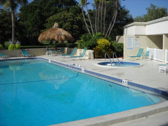 Pool and Spa for Cove Cay Village I